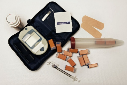 diabetics medical kit